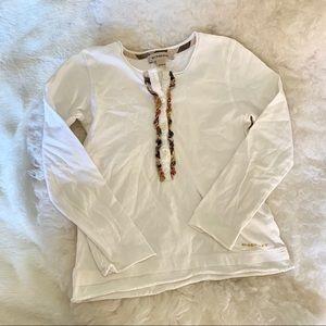 Burberry girls t-shirt sz 6Y
